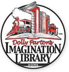 dolly parton's imagination library logo graphic
